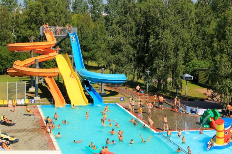 Beach Waterpark — Olympic Center
